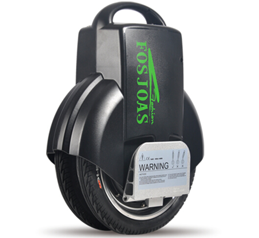 Riding Fosjoas electric unicycle like a dancer