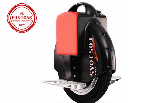 Steer FOSJOAS Electric Unicycle V6 and Zoom Around the Serene Town