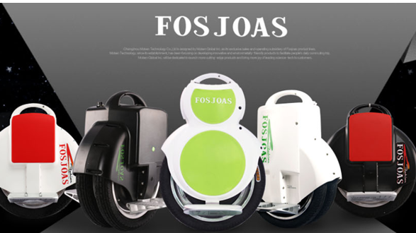 Fosjoas self-balancing unicycle is an attention getter