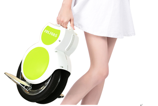 Fosjoas Electric Unicycle: A Transporter Sparing You From Stall Panic