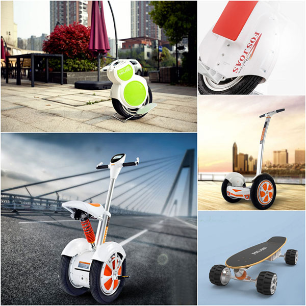 twin-wheeled electric scooters