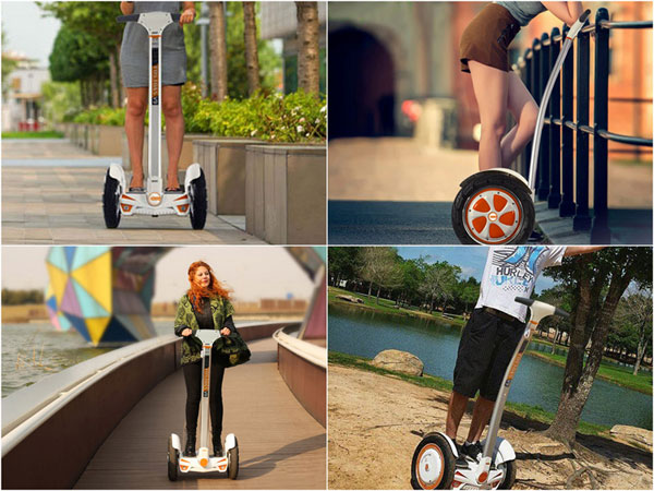 self-balancing electric scooters