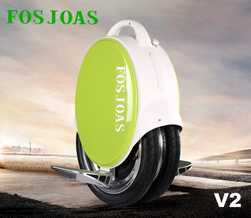 V2 twin-wheel self-balance electric unicycle