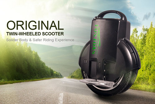 Fosjoas electric unicycle self balancing scooter