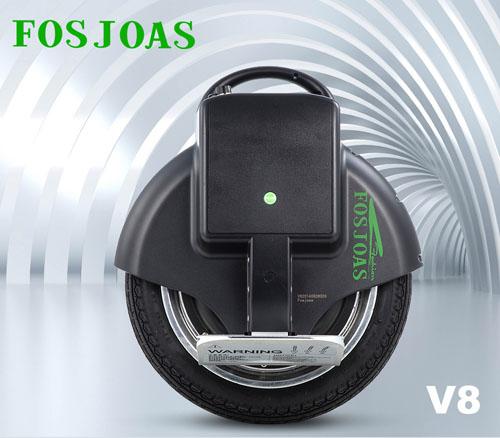 V8 electric self-balancing unicycle