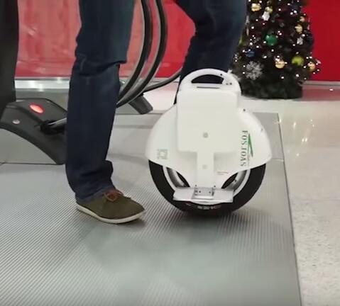 dos ruedas eléctrico monociclo - V8