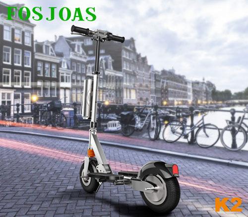 dos ruedas scooter eléctrico Fosjoas K2
