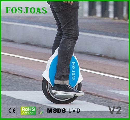 V2 dos ruedas eléctrico monociclo