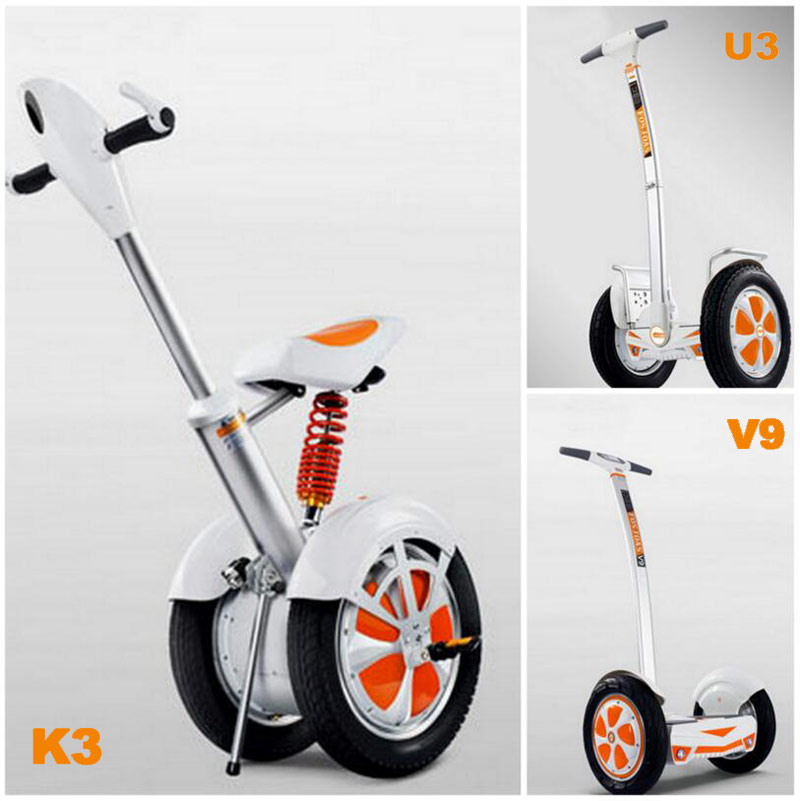 two-wheel electric self-balancing scooter