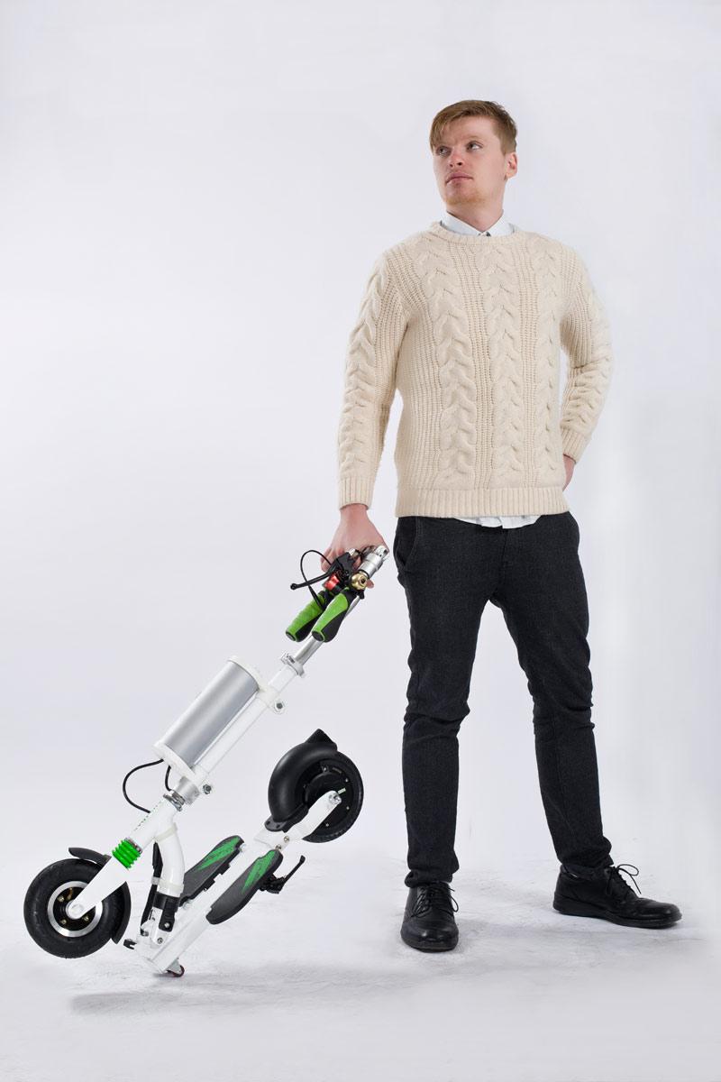 intelligent cheap folding electric unicycle K5