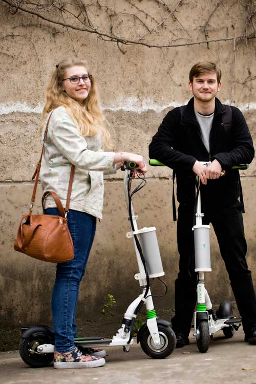 K5 intelligent self-balancing scooters
