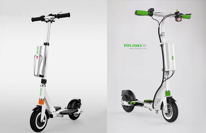 K2 and K5 electric scooters