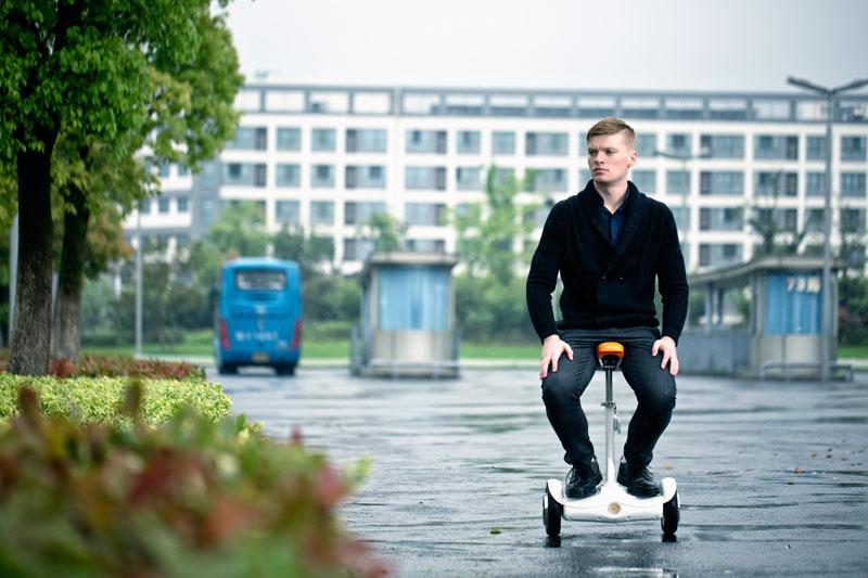 U1 auto equilibrio monociclo