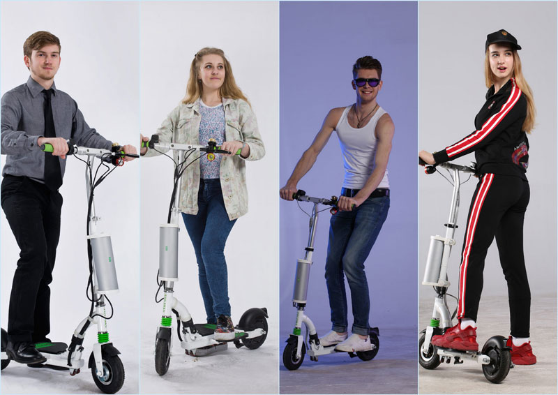 K5 lightweight electric scooters for adults