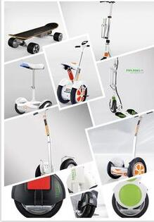 mini self-balancing scooters