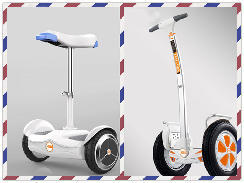 2-wheeled electric scooters