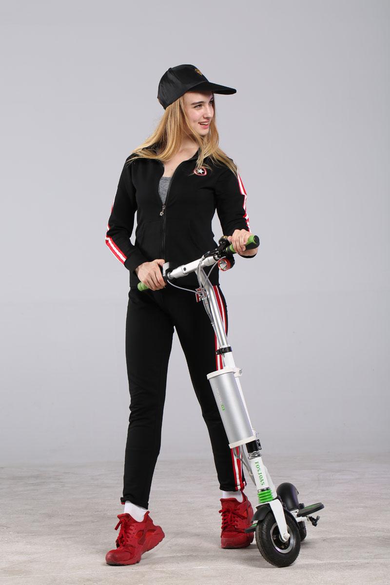 Fosjoas V6 single-wheeled electric scooter