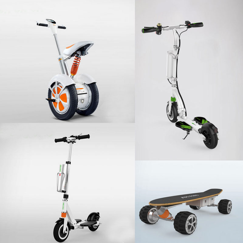 Fosjoas 2-wheeled electric scooters