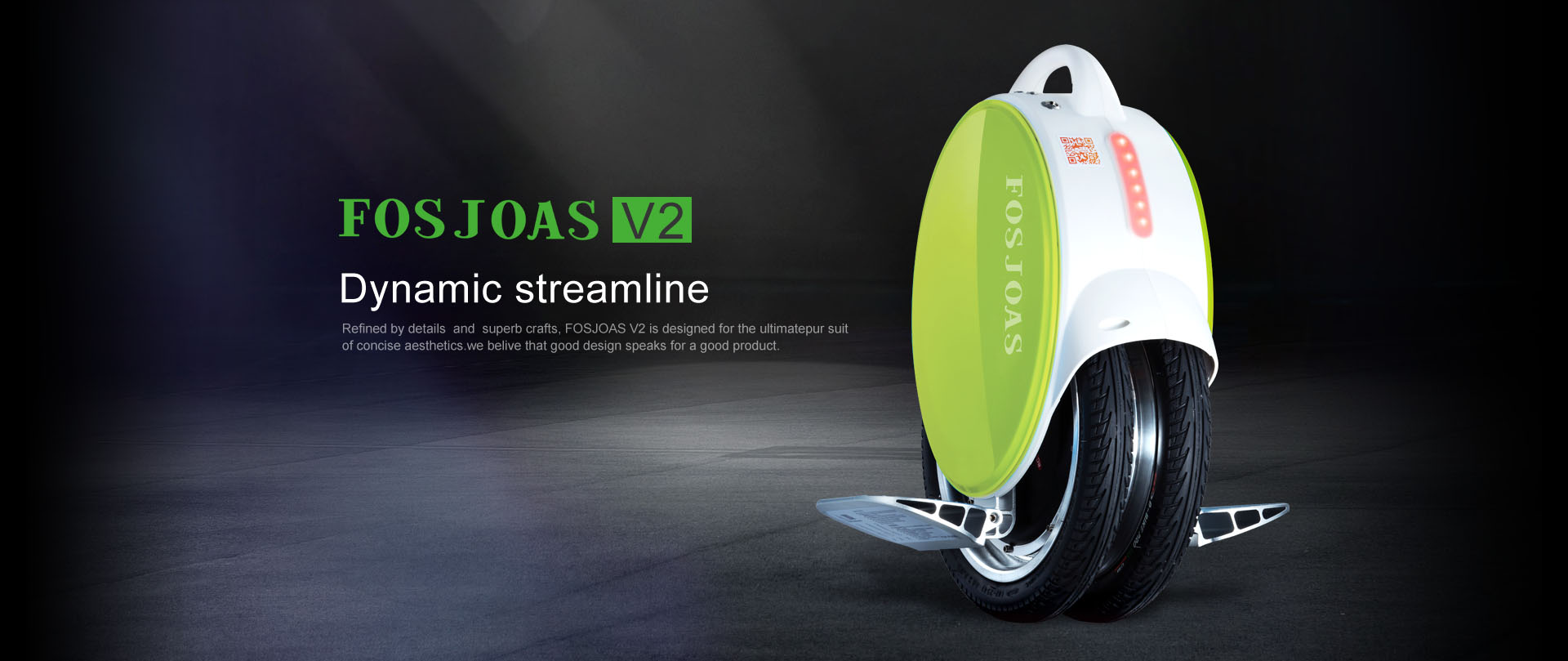 Fosjoas V2 two-wheel balancing electric scooter