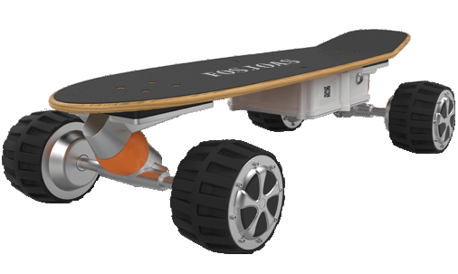 Fosjoas K1 electric longboards parameter