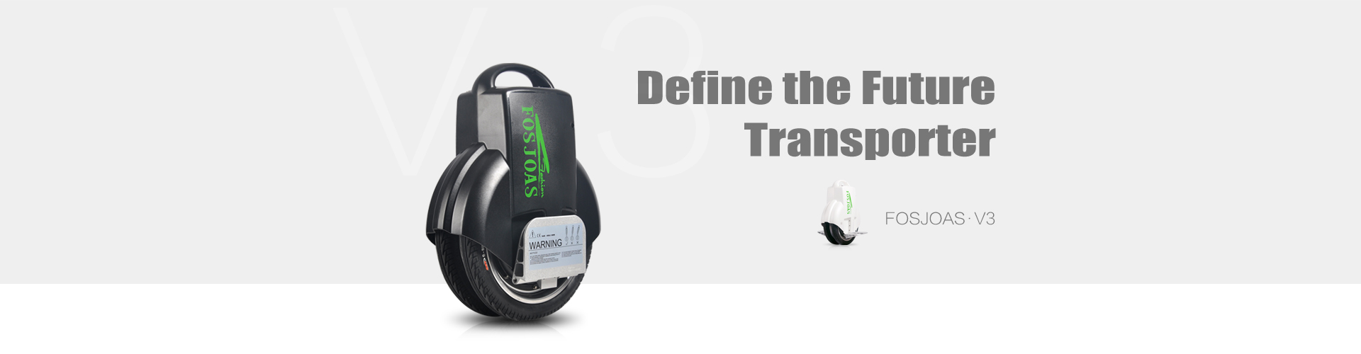 fosjoas V3 electric unicycle