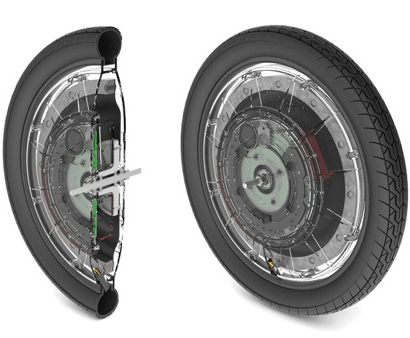 V9 self-balancing unicycle