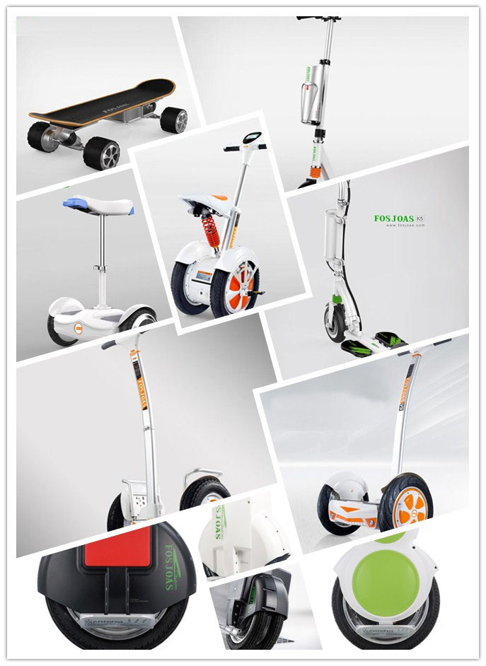Fosjoas intelligent self-balancing electric scooters