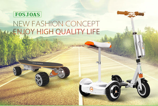 Fosjoas intelligent self-balancing scooters