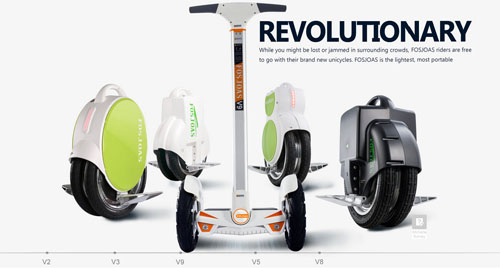 FOSJOAS electric intelligent scooters