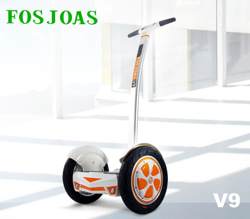 Two-wheeled electric self-balancing scooter