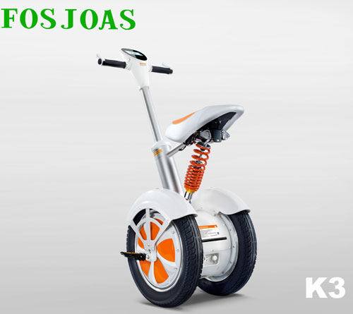 K3 two wheel saddle-equipped scooter