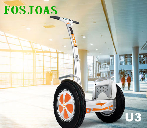 Fosjoas foldable two wheel electric scooter