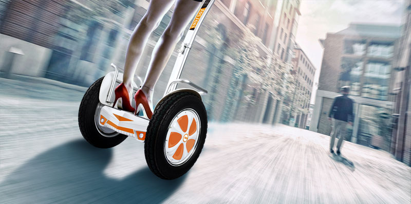 two-wheeled self-balancing scooter U3