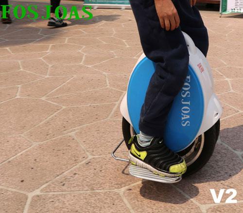 Fosjoas intelligent self-balancing electric scooter