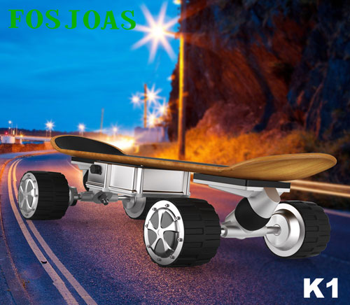 Fosjoas motorized skateboard