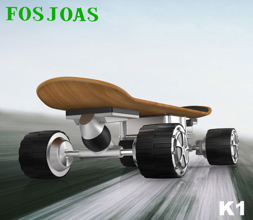 Fosjoas K1 Maple electric skateboard