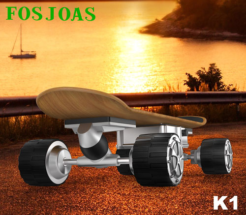 Fosjoas wireless remote control skateboard K1