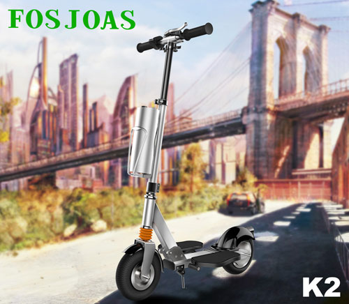 Fosjoas K2 standing up electric scooter